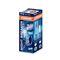 NIGHT BREAKER® PLUS BLISTER H3 12V 55W PK22s OSRAM 64151NBP-01B