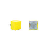 Relais automobile Cartier 03532 - 12V 40A à diode - 5 broches jaune