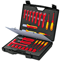 Coffret Standard 26 outils isolés KNIPEX 989912