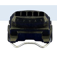 Socket housing 5-way Bosch 1 284 485 138
