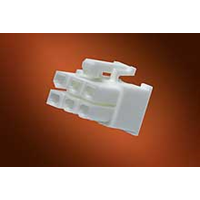 Mini-Fit Jr.™ receptacle housing, dual row, UL 94V-2, 2 circuits Molex 39-01-2020